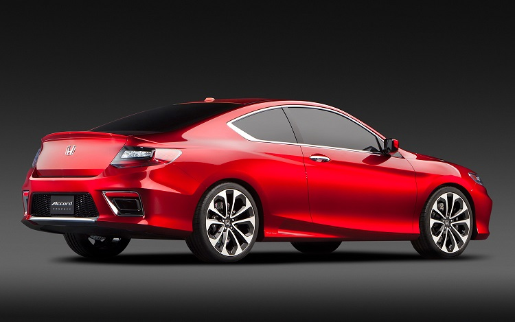 2017 Honda Accord Coupe rear view
