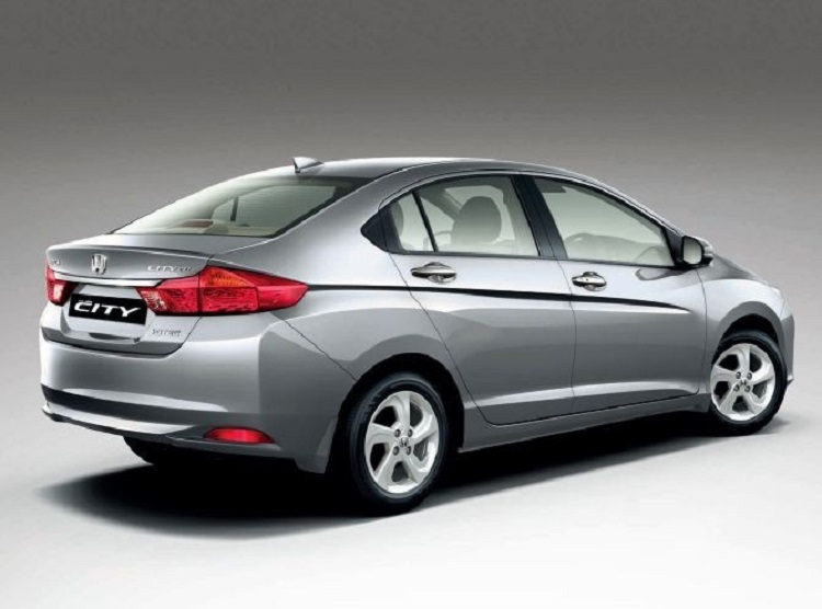 Beautiful 2017 Honda City Rear View Design