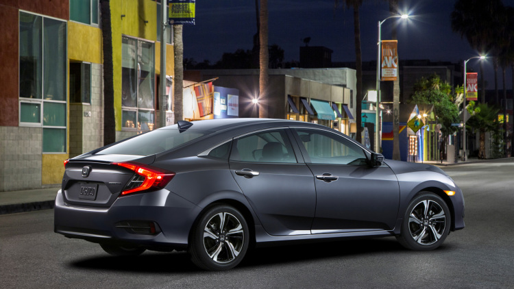 2017 Honda Civic rear view