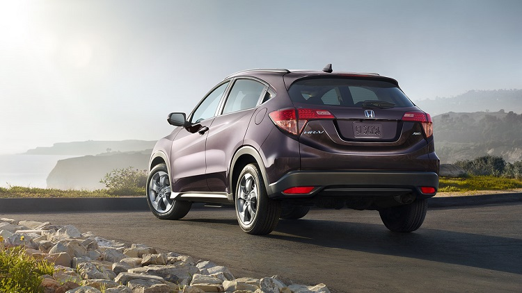 2017 Honda HR-V rear view