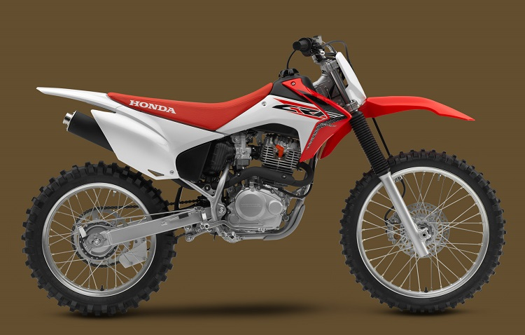 2016 Honda CRF230F side view