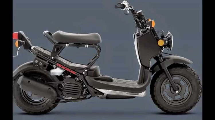 2016 Honda Ruckus side view