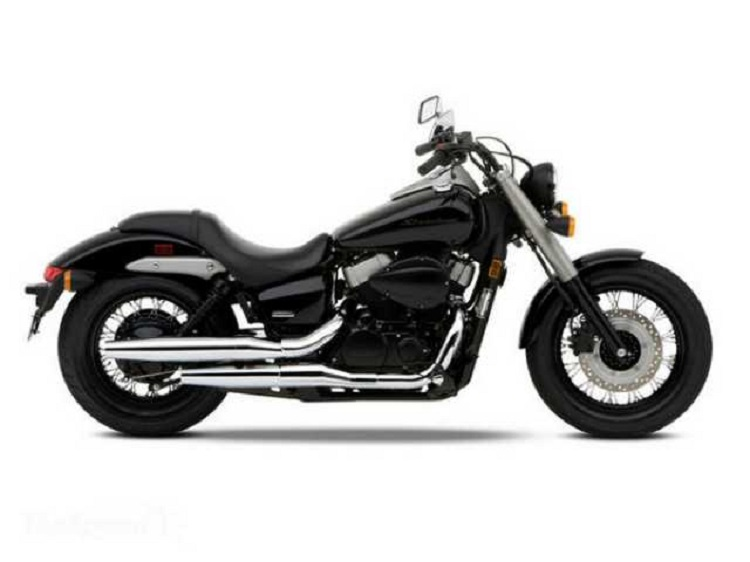 2016 Honda Shadow Phantom side view
