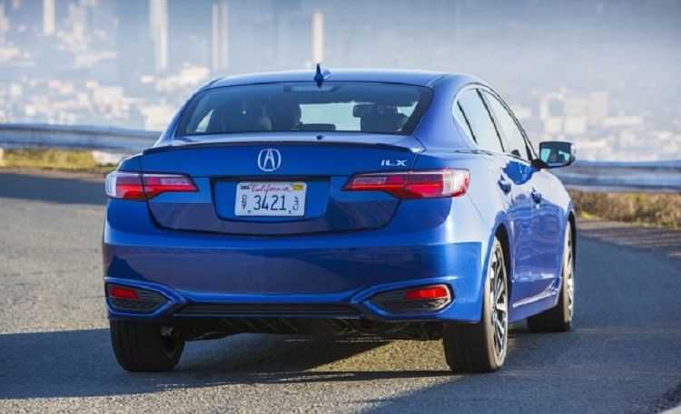 2017 Acura ILX Type S rear view