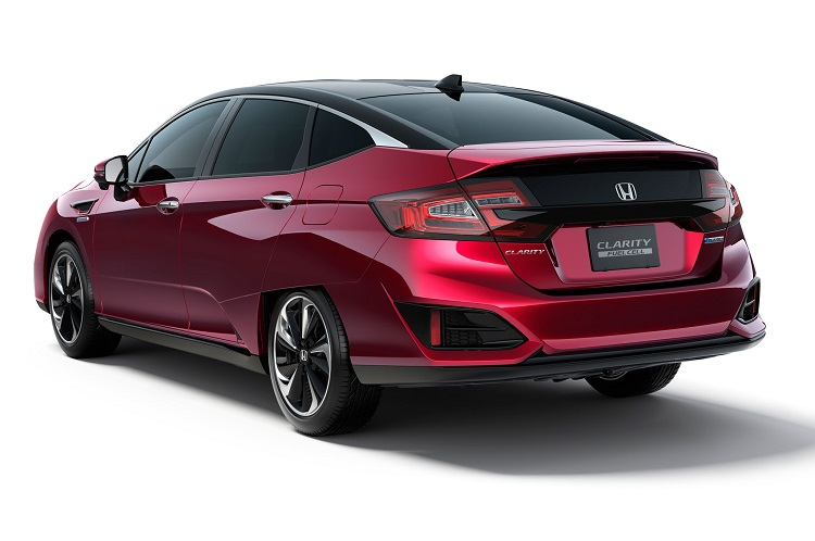 2017 Honda Clarity rear view