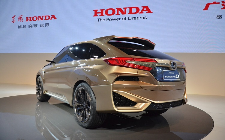 Honda Concept D rear view