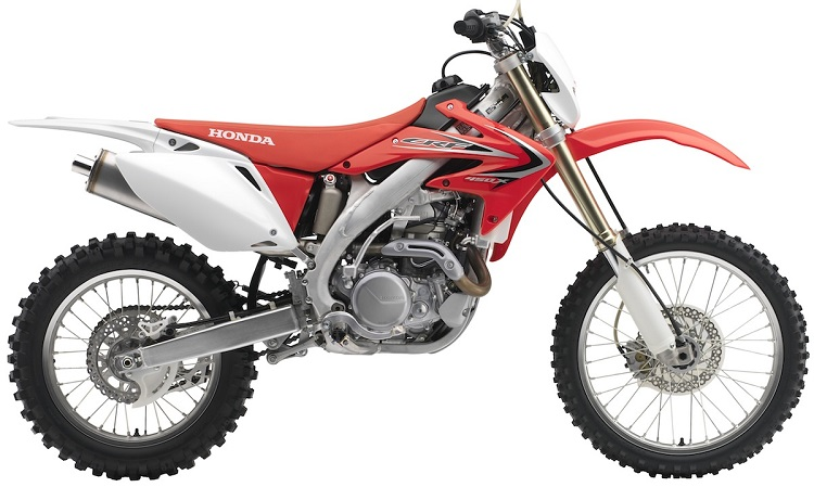 2016 Honda CRF450X side view