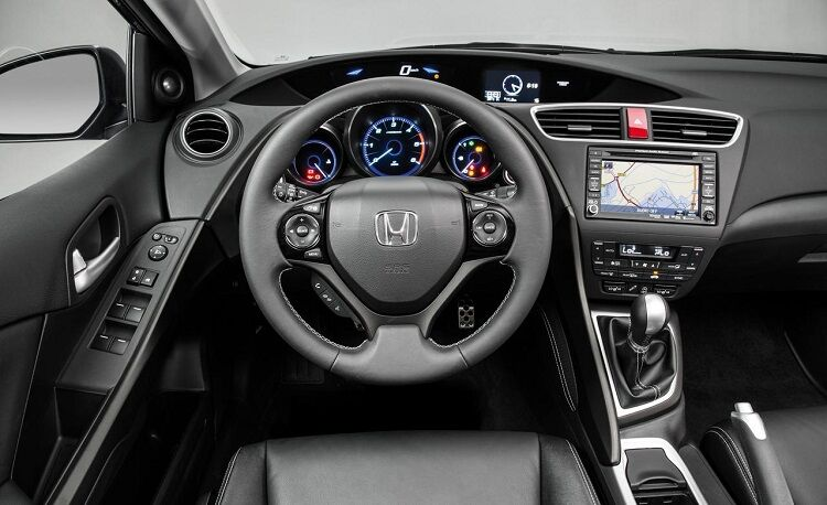 2018 Honda Civic Si interior