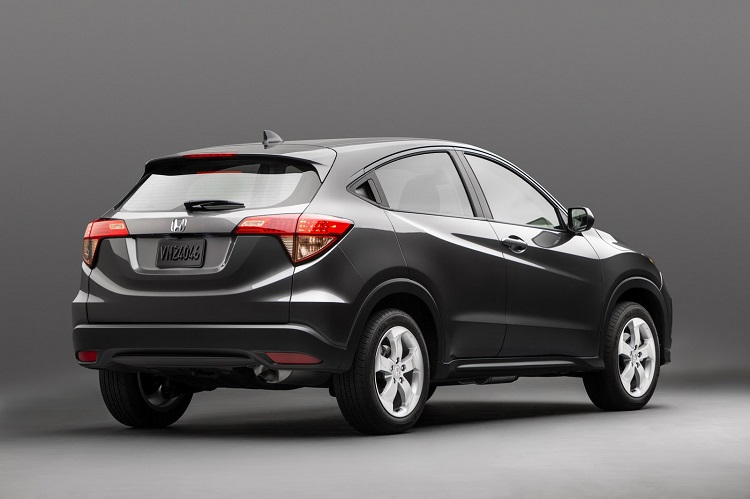 2018 honda hr v turbo. Wonderful Turbo 2018 Honda HRV Rear View And Honda Hr V Turbo