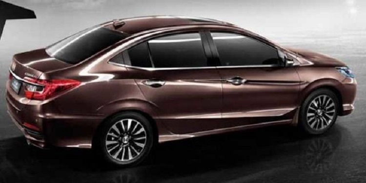 2018 Honda City side view