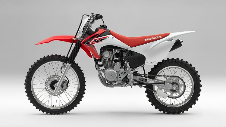 2017 Honda CRF230F side view