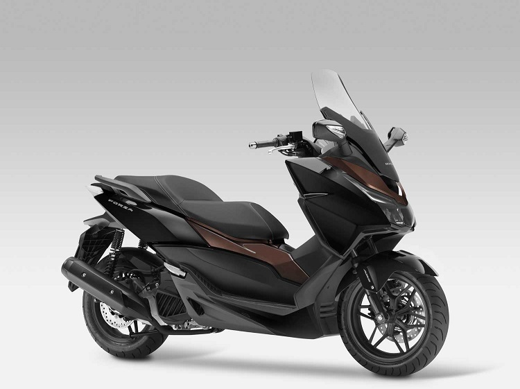 2017 honda forza abs 300 125 review specs price features. Black Bedroom Furniture Sets. Home Design Ideas