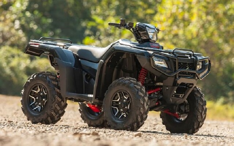 2017 Honda Foreman Rubicon front view