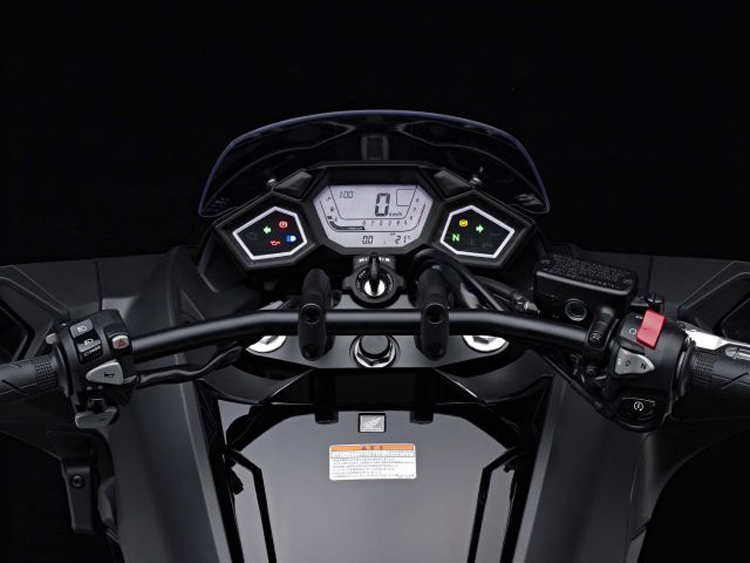 2017 Honda NM4 dashboard