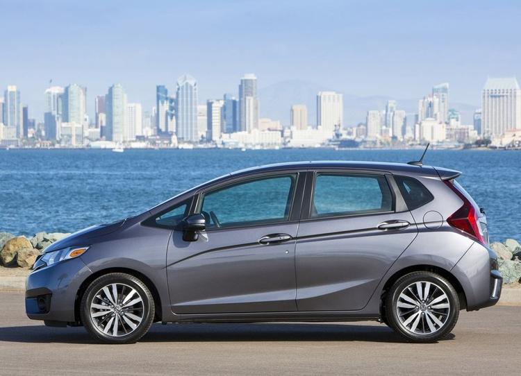 2019 Honda Fit side