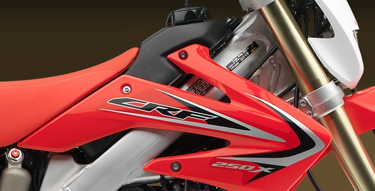 2017 Honda CRF250X badge