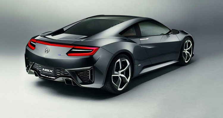 2018 Acura NSX Type R rear