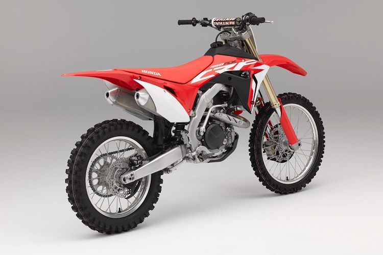 2017 Honda CRF450X rear