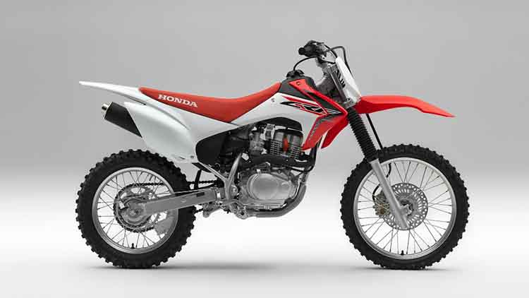 2018 Honda CRF150F side
