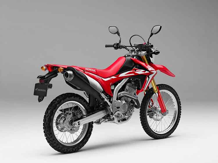 2018 Honda CRF250L rear