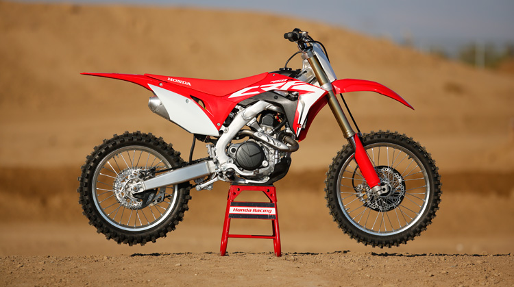 2018 Honda CRF450R side