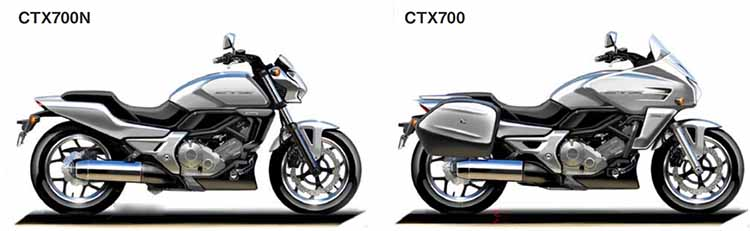 2018 Honda CTX700N vs CTX700