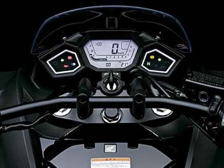 2018 Honda NM4 dashboard