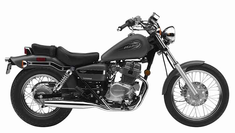 2018 Honda Rebel 500 side
