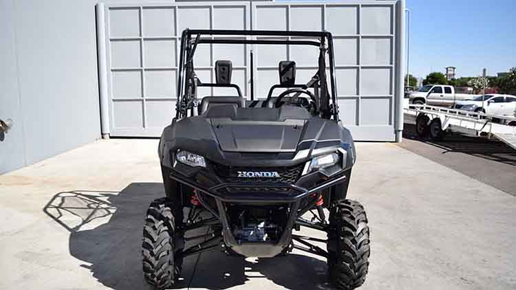 2018 honda pioneer 700 4 deluxe accessories review specs price sxs. Black Bedroom Furniture Sets. Home Design Ideas