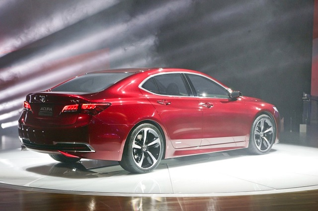 2019 Acura TLX rear view