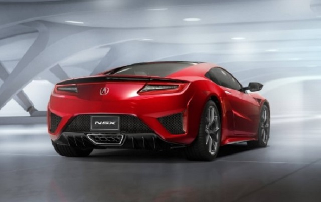 2019 Baby Acura NSX rear view