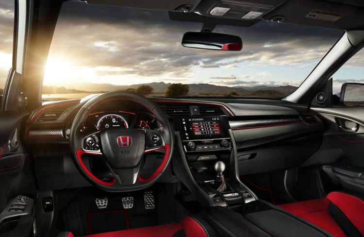 2019 Honda Accord Type R cabin