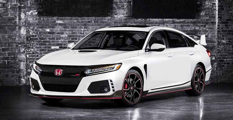 2019 Honda Accord Type R side