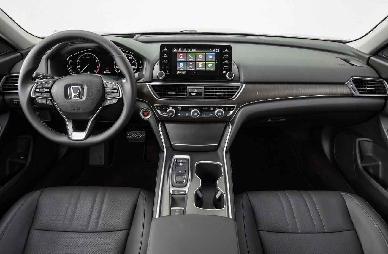 Honda Accord 2018 White >> 2019 Honda Accord interior - 2017 Honda news