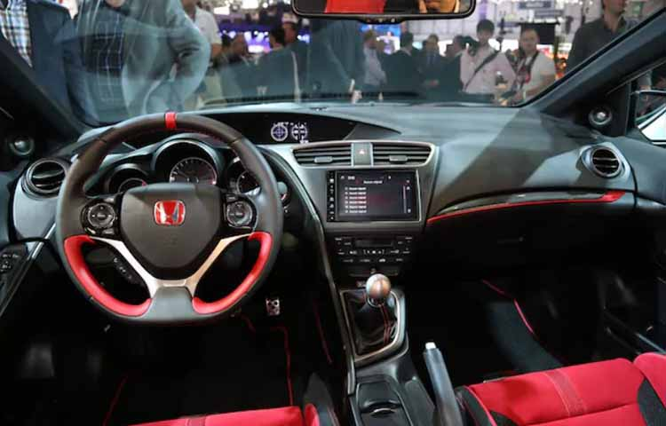 2019 Honda Civic Type R interior