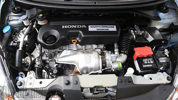 2019 Honda Mobilio engine