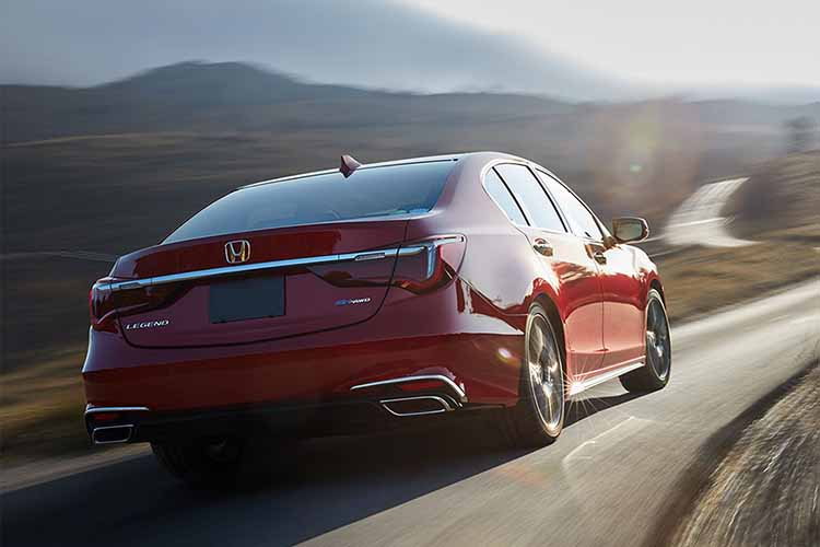 2019 honda legend rear