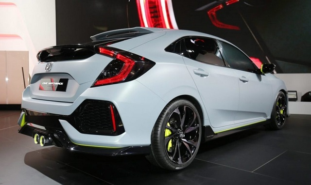 2019 Honda Civic Rear View 2017 Honda News