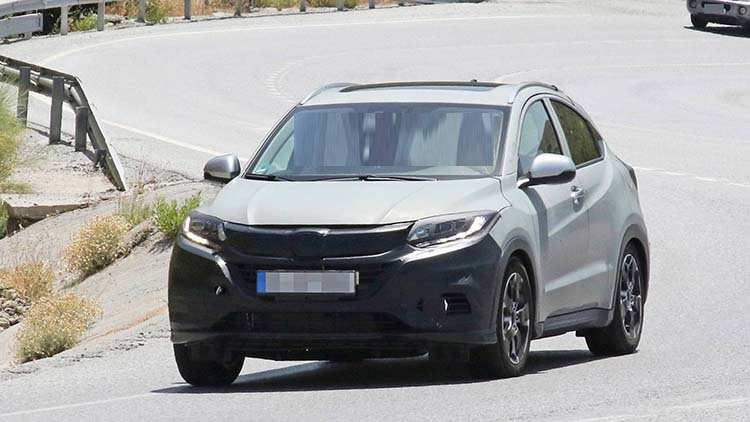 2020 Honda HR-V facelift